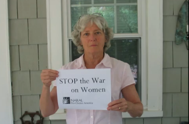 NARAL: Stop the War On Women [VIDEO]