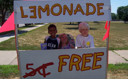 "UPDATE: Kids Fined $500 for ""Operating Lemonade Stand Without a Permit"""