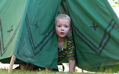 June 25 is American Backyard Campout Day!