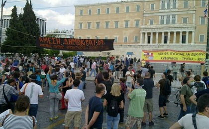 Riots Engulf Center of Athens During 48-Hour Strike (VIDEO)
