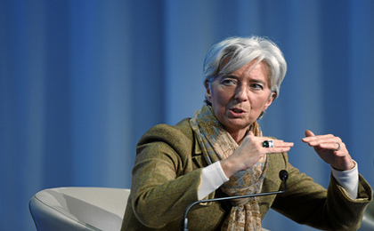 Christine Lagarde Named New Head of the IMF