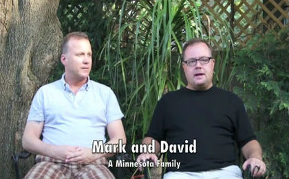 Mark and David's Family is About Love