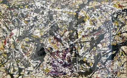The Physics of Jackson Pollock's Painting (VIDEO)
