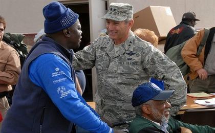 Feeding Veterans