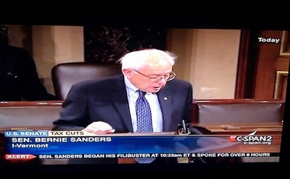 Senator Bernie Sanders Stands Up For the Rest of Us