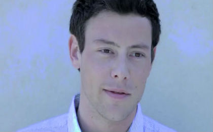 Glee's Corey Monteith is Straight not Narrow