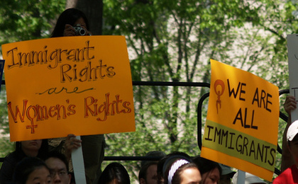 Protesters Rally Against Georgia Immigration Law