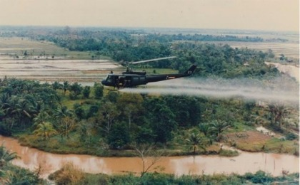 Vietnam Era Weapon Being Used to Clear the Amazon