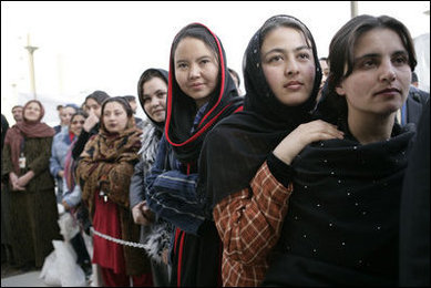 What is the Future for Women in Afghanistan?