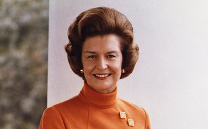 Betty Ford, First Lady and Feminist, Dies at 93