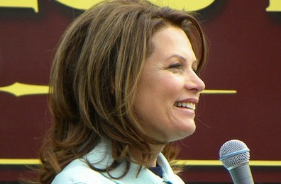 Despite The Bad News, Bachmann Giving Romney Run for Money