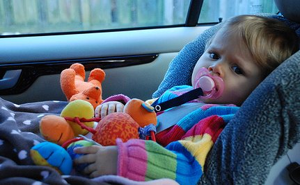 Kids Are Safer In The Car When Grandma Drives