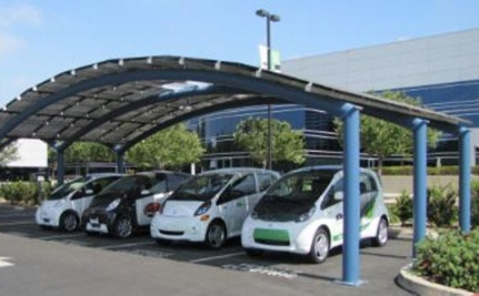 Mitsubishi Launches a Solar-Powered Charging Station