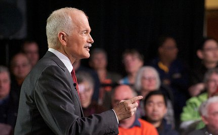 Jack Layton Temporarily Stepping Down To Battle Cancer