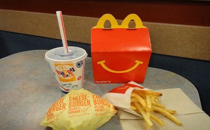 McDonald's Will Include Fruits and Veggies In Happy Meals