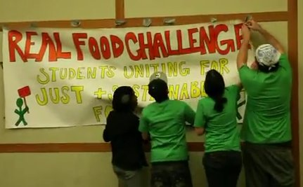 UPDATE: The Real Food Challenge, A 2011 DoSomething Awards Finalist