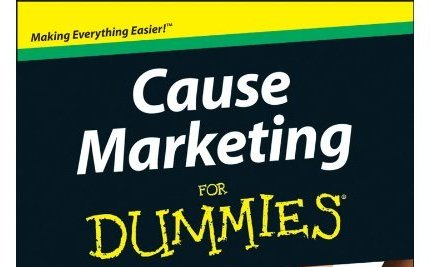 Fundraisers Talk Cause Marketing – Dummies Style! [Book Giveaway]
