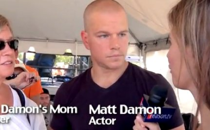 "Matt Damon Defends Teachers: ""A Teacher Wants to Teach"" [VIDEO]"