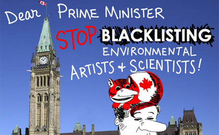 Blacklisted Canadian Artist Becoming Mosquito in Government's Ears