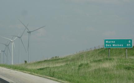 Iowa: Now 20% Wind-Powered