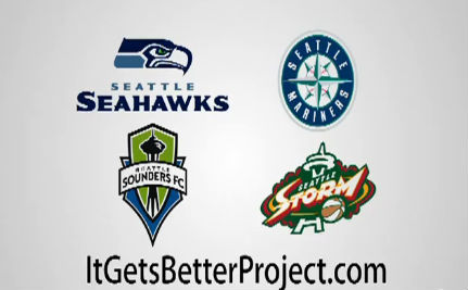 Seattle Sports Teams Unite for It Gets Better Video