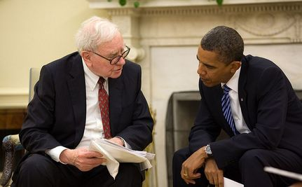 Warren Buffett: Please, Tax Me!