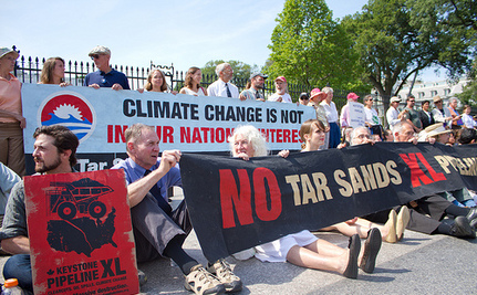 Keystone XL Protest Continues At White House, Over 250 Arrested