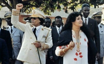 Gaddafi's Wife & 3 Children in Algeria