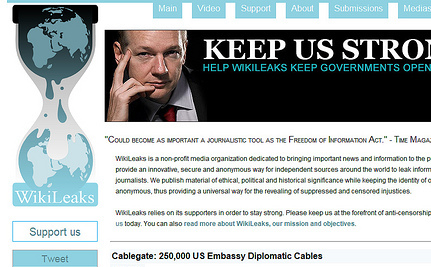 Wikileaks Publishes Cables With Names of Confidential Sources