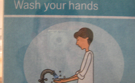 Doctors & Nurses: Please Wash Your Hands