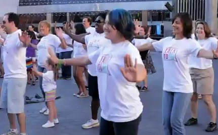 Supporters Dance for the Trevor Project (VIDEO)