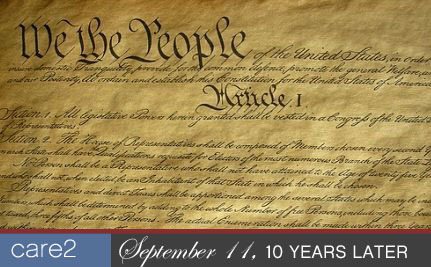 On The Anniversary of 9/11 A Renewed Commitment to the Constitution
