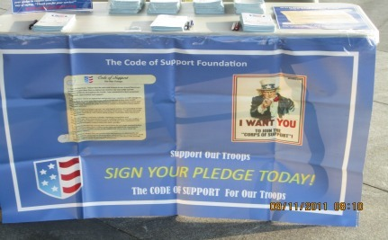 Code of Support and Patriot Guard – 9/11 Commemoration Roared In