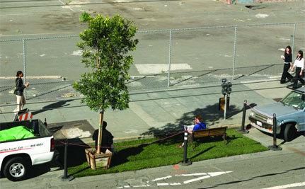 Grab a Lawn Chair & Celebrate PARK(ing) Day