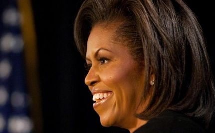 Right Wing Reads Michelle Obama's Mind, Knows She Disresepected Flag