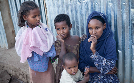 One Family Weathers Climate Change in Ethiopia