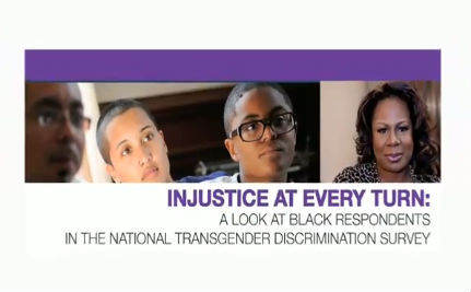 Black Trans People Face Higher Rates of Discrimination