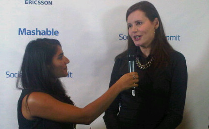 Geena Davis Talks Gender Equality at Social Good Summit