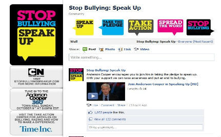 Facebook Launches Stop Bullying App
