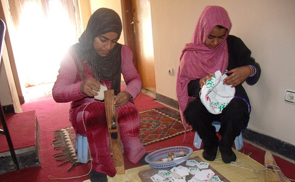 For Afghan Women, DOSTI is a Path Toward Peace and Prosperity