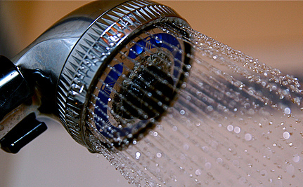 Use 70% Less Water With Automatic Recycling Shower