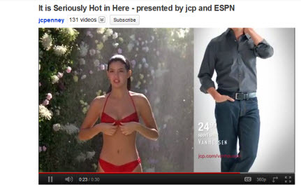 JC Penney Objectifies Women to Sell Men's Clothing [VIDEO]
