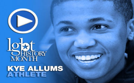 Athlete Kye Allums – LGBT History Month Day 1