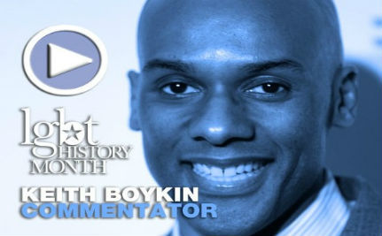 Commentator Keith Boykin — LGBT History Month Day 6