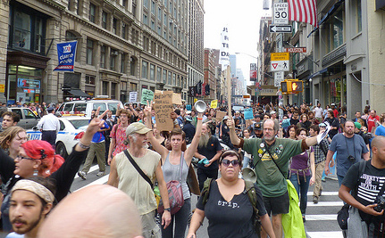 Occupy Wall Street: Peaceful Protesters Beaten By NYPD