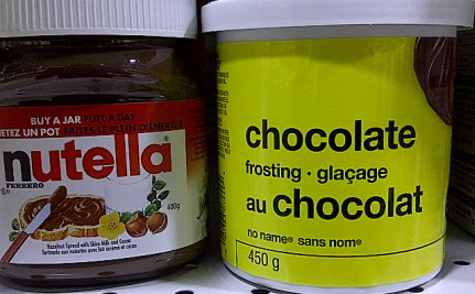 Is Cheap Chocolate Frosting Healthier Than Nutella?