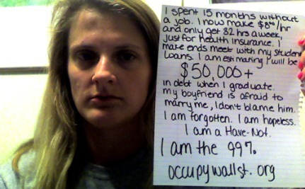 Who Are the 99 Percent?  Occupy Wall St Stories #6