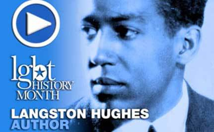Poet Langston Hughes – LGBT History Month Day 16