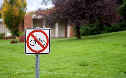 City Seeks to Outlaw Bicyclists and Pedestrians