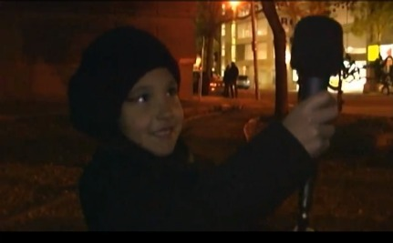 6-Year-Old Interviews Occupy Edmonton
